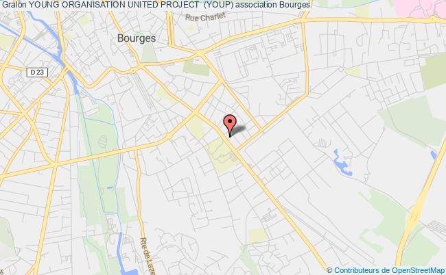 plan association Young Organisation United Project  (youp) Bourges