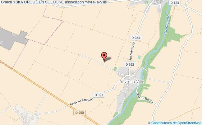 plan association Yska Orgue En Sologne