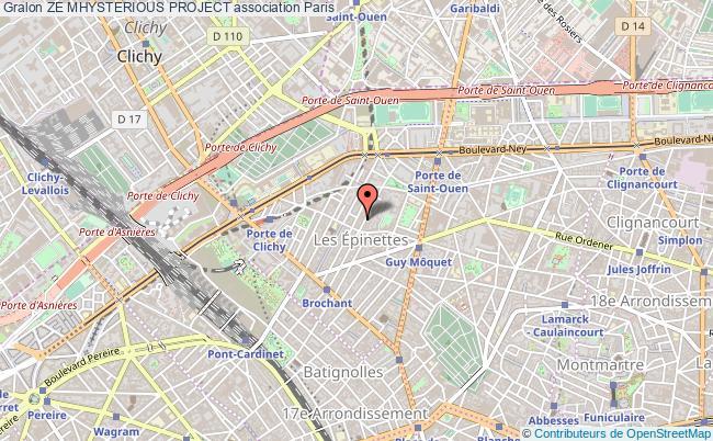 plan association Ze Mhysterious Project