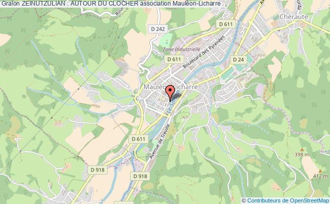 plan association Zeinutzulian : Autour Du Clocher