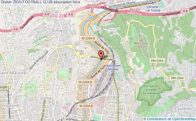 plan association Zion Football Club Nice