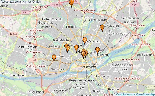 plan Accès aux soins Nantes Associations accès aux soins Nantes : 17 associations