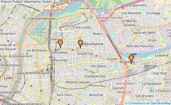 plan Acteurs Publics Villeurbanne Associations Acteurs Publics Villeurbanne : 5 associations