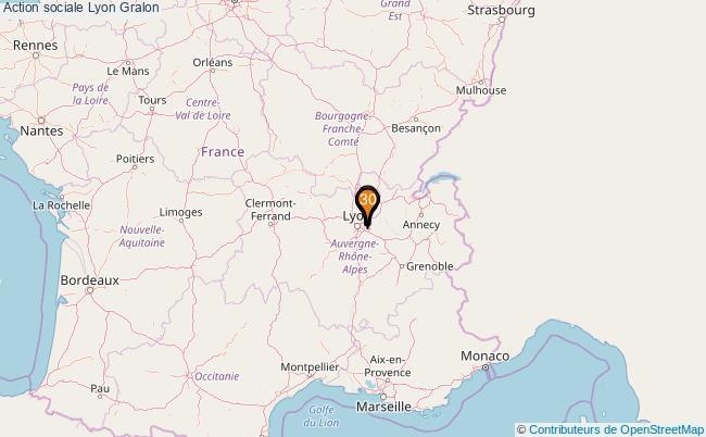 plan Action sociale Lyon Associations action sociale Lyon : 35 associations