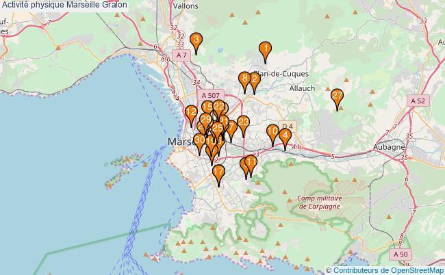 plan Activité physique Marseille Associations activité physique Marseille : 49 associations