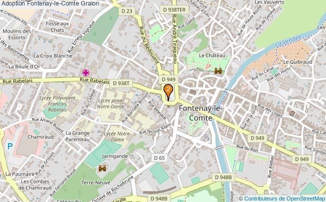 plan Adoption Fontenay-le-Comte Associations adoption Fontenay-le-Comte : 2 associations