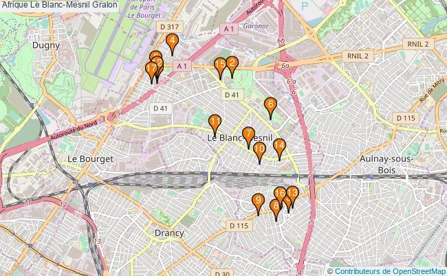 plan Afrique Le Blanc-Mesnil Associations Afrique Le Blanc-Mesnil : 18 associations