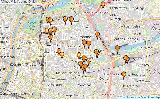 plan Afrique Villeurbanne Associations Afrique Villeurbanne : 83 associations