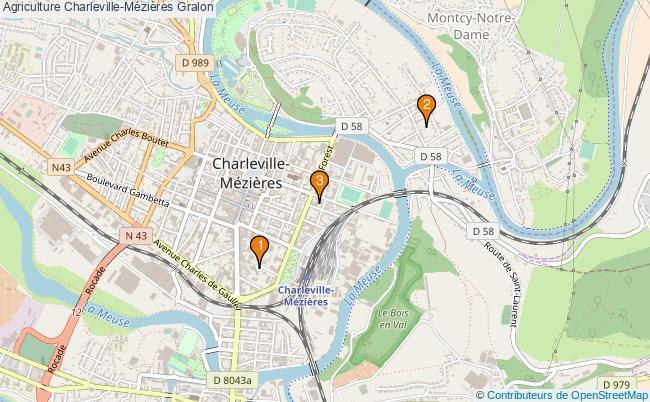 plan Agriculture Charleville-Mézières Associations Agriculture Charleville-Mézières : 3 associations