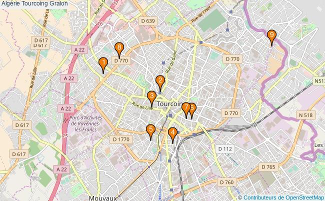 plan Algérie Tourcoing Associations Algérie Tourcoing : 9 associations