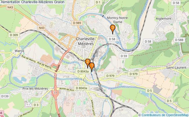 plan Alimentation Charleville-Mézières Associations alimentation Charleville-Mézières : 2 associations