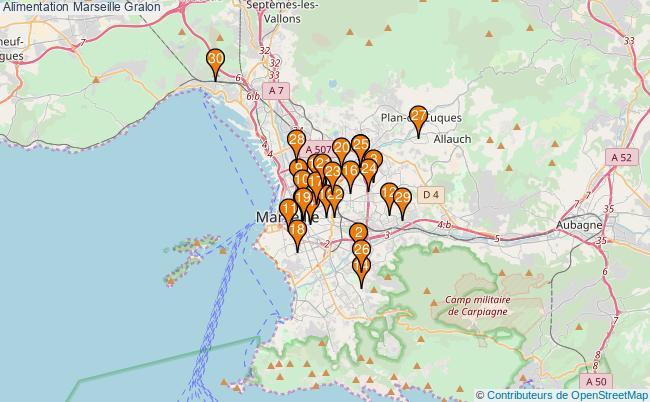 plan Alimentation Marseille Associations alimentation Marseille : 88 associations