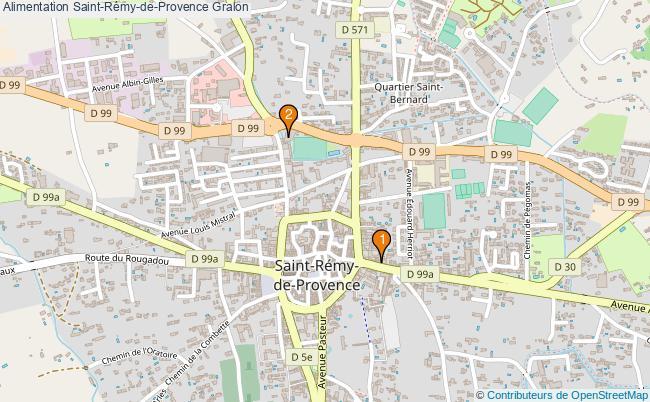 plan Alimentation Saint-Rémy-de-Provence Associations alimentation Saint-Rémy-de-Provence : 3 associations