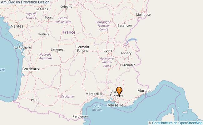 plan Amu Aix en Provence Associations amu Aix en Provence : 4 associations