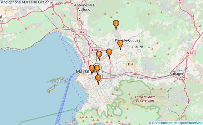 plan Anglophone Marseille Associations anglophone Marseille : 7 associations