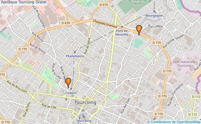 plan Apolitique Tourcoing Associations Apolitique Tourcoing : 2 associations