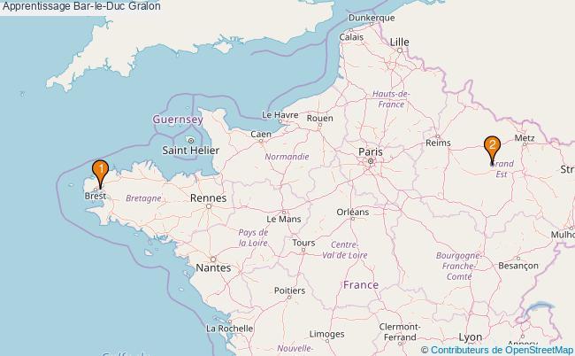 plan Apprentissage Bar-le-Duc Associations apprentissage Bar-le-Duc : 2 associations