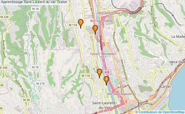 plan Apprentissage Saint-Laurent-du-Var Associations apprentissage Saint-Laurent-du-Var : 5 associations