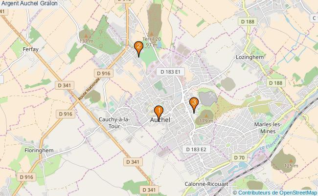 plan Argent Auchel Associations argent Auchel : 3 associations