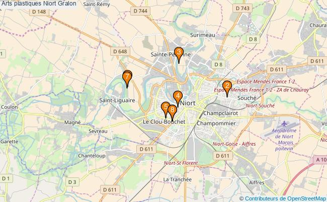 plan Arts plastiques Niort Associations arts plastiques Niort : 9 associations