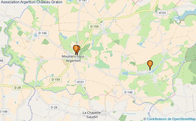 plan Association Argenton-Château Associations association Argenton-Château : 3 associations
