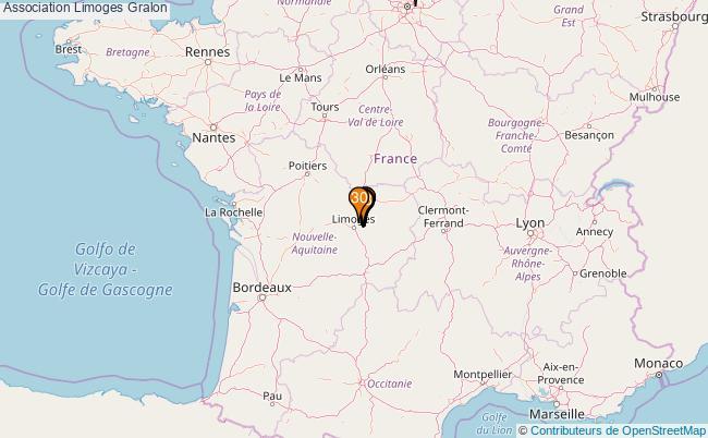 plan Association Limoges Associations association Limoges : 617 associations