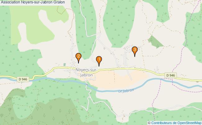 plan Association Noyers-sur-Jabron Associations association Noyers-sur-Jabron : 3 associations