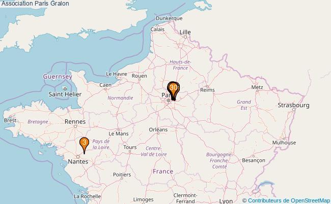 plan Association Paris Associations association Paris : 9987 associations