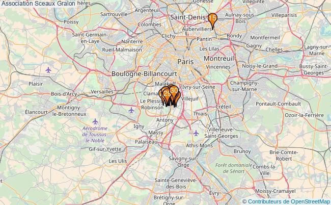 plan Association Sceaux Associations association Sceaux : 57 associations