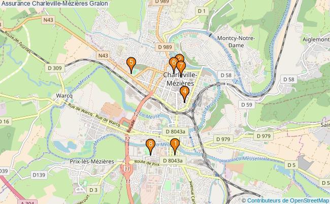 plan Assurance Charleville-Mézières Associations assurance Charleville-Mézières : 8 associations