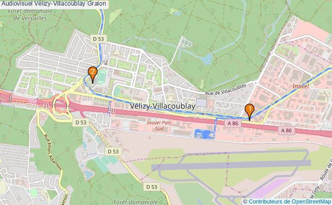 plan Audiovisuel Vélizy-Villacoublay Associations audiovisuel Vélizy-Villacoublay : 2 associations