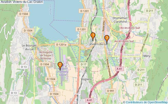plan Aviation Viviers-du-Lac Associations aviation Viviers-du-Lac : 3 associations