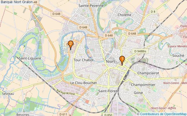 plan Banque Niort Associations banque Niort : 2 associations