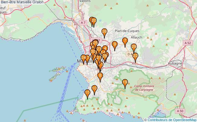 plan Bien-être Marseille Associations Bien-être Marseille : 439 associations