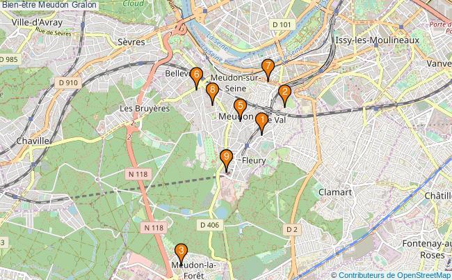 plan Bien-être Meudon Associations Bien-être Meudon : 12 associations