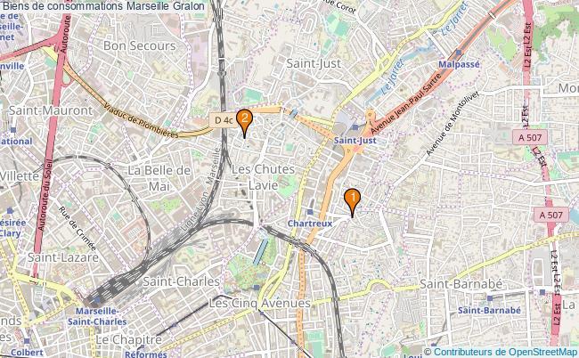 plan Biens de consommations Marseille Associations biens de consommations Marseille : 2 associations