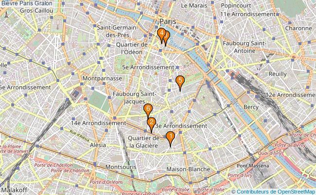 plan Bièvre Paris Associations Bièvre Paris : 6 associations