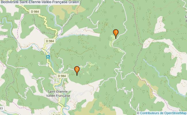 plan Biodiversité Saint-Etienne-Vallée-Française Associations Biodiversité Saint-Etienne-Vallée-Française : 2 associations