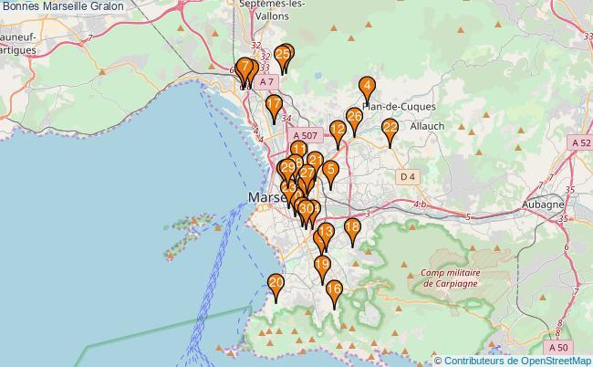 plan Bonnes Marseille Associations Bonnes Marseille : 64 associations