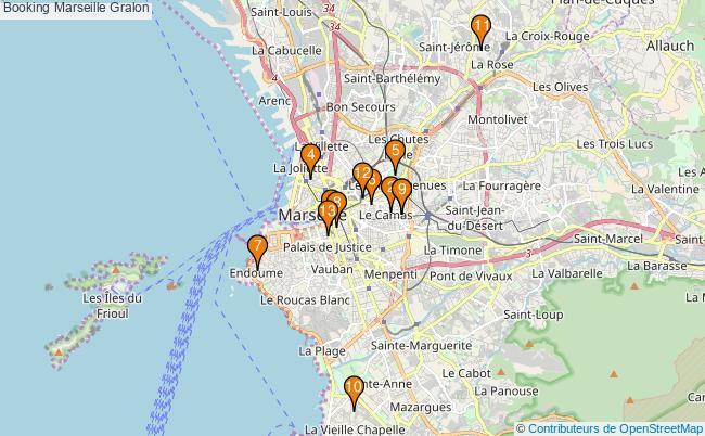 plan Booking Marseille Associations booking Marseille : 13 associations