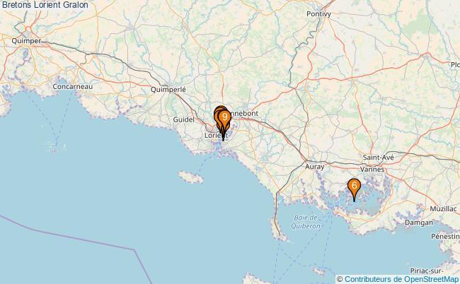 plan Bretons Lorient Associations Bretons Lorient : 8 associations
