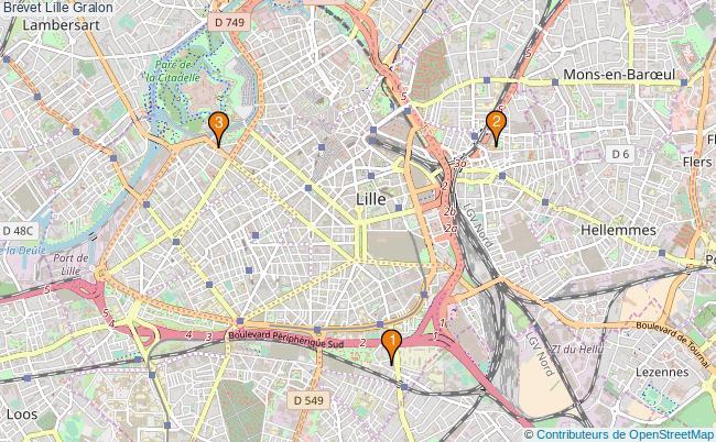 plan Brevet Lille Associations brevet Lille : 3 associations