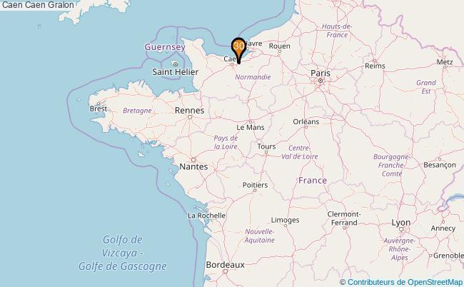 plan Caen Caen Associations Caen Caen : 251 associations