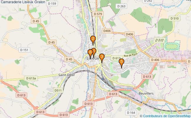 plan Camaraderie Lisieux Associations Camaraderie Lisieux : 6 associations
