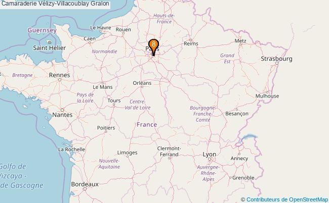 plan Camaraderie Vélizy-Villacoublay Associations Camaraderie Vélizy-Villacoublay : 8 associations
