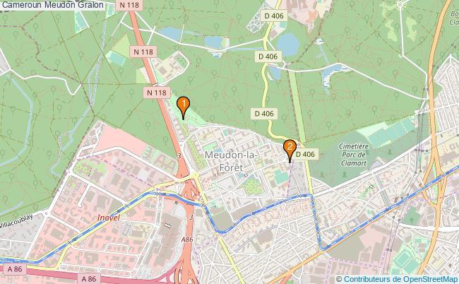 plan Cameroun Meudon Associations Cameroun Meudon : 2 associations