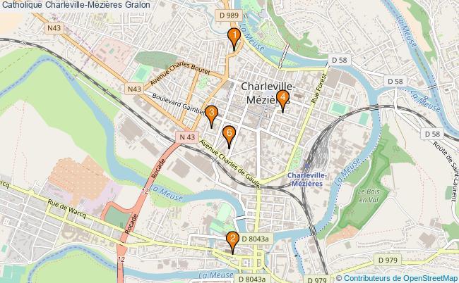 plan Catholique Charleville-Mézières Associations catholique Charleville-Mézières : 6 associations
