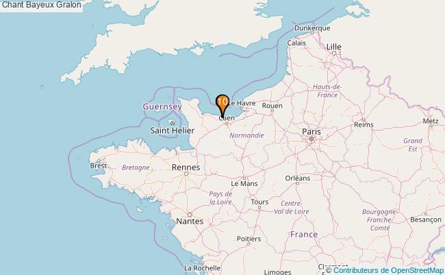 plan Chant Bayeux Associations chant Bayeux : 10 associations