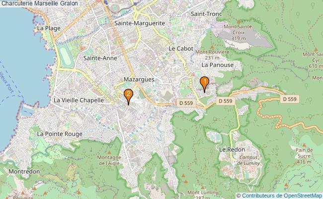 plan Charcuterie Marseille Associations charcuterie Marseille : 2 associations