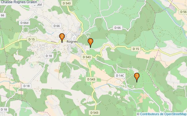 plan Chasse Rognes Associations chasse Rognes : 3 associations
